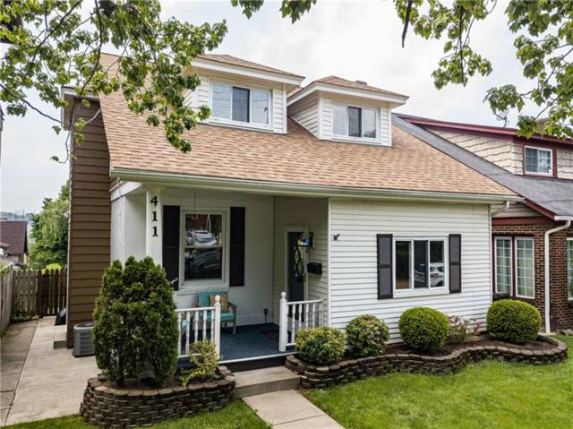 411 8TH, Oakmont, PA 15139 (MLS #1396507) :: Broadview Realty