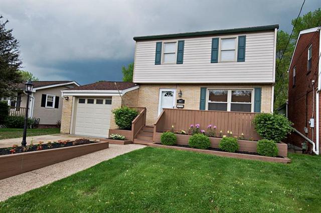 317 Pine St, Zelienople Boro, PA 16063 (MLS #1396561) :: Keller Williams Realty