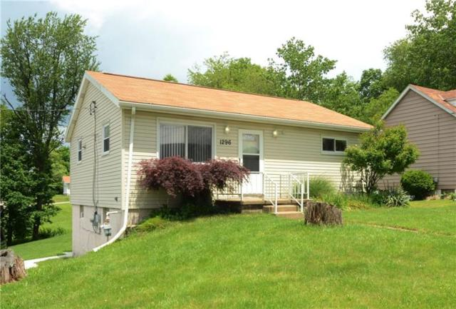 1296 Ridgeway Ave, Hopewell Twp - Bea, PA 15001 (MLS #1400295) :: REMAX Advanced, REALTORS®