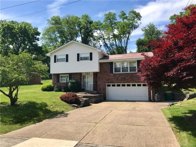 334 Hillcrest Ave, Ross Twp, PA 15237 (MLS #1401563) :: Broadview Realty