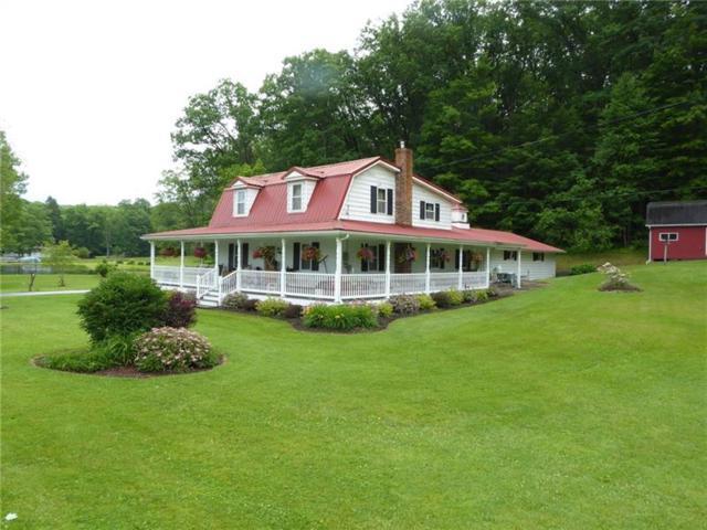 4366 National Pike, Markleysburg, PA 15459 (MLS #1402277) :: Broadview Realty