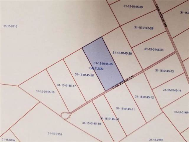 Lot-25 Oak Ridge Ln, Saltlick Twp, PA 15622 (MLS #1418307) :: Broadview Realty