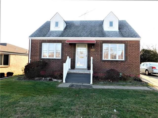 1042 Edward Drive, Baldwin Boro, PA 15227 (MLS #1429362) :: Broadview Realty