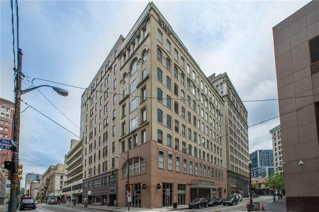 11 5th #202, Downtown Pgh, PA 15222 (MLS #1446877) :: Dave Tumpa Team