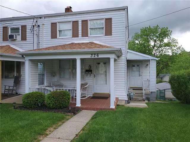 326 Cedar St, Jeannette, PA 15644 (MLS #1449518) :: Dave Tumpa Team