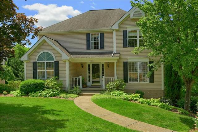 403 Barrett Court, Cranberry Twp, PA 16066 (MLS #1455022) :: Dave Tumpa Team