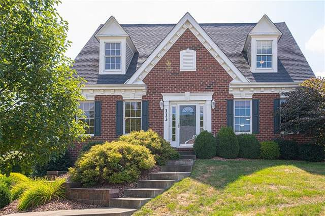 113 Oak Moss Dr, North Fayette, PA 15108 (MLS #1459904) :: Broadview Realty