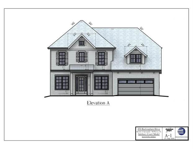 756 (LOT 615C) Buckingham Drive, Peters Twp, PA 15102 (MLS #1459956) :: RE/MAX Real Estate Solutions