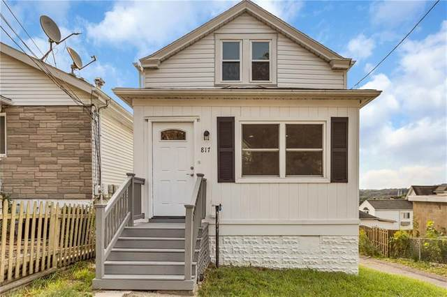 817 13th St, Mckees Rocks, PA 15136 (MLS #1469159) :: Hanlon-Malush Team