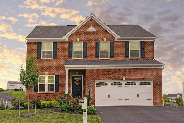 203 Saddle Ridge Drive, North Fayette, PA 15071 (MLS #1469509) :: Dave Tumpa Team