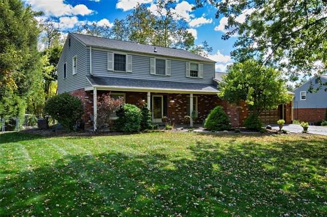 105 Ridgeview Drive, Peters Twp, PA 15367 (MLS #1472599) :: Dave Tumpa Team