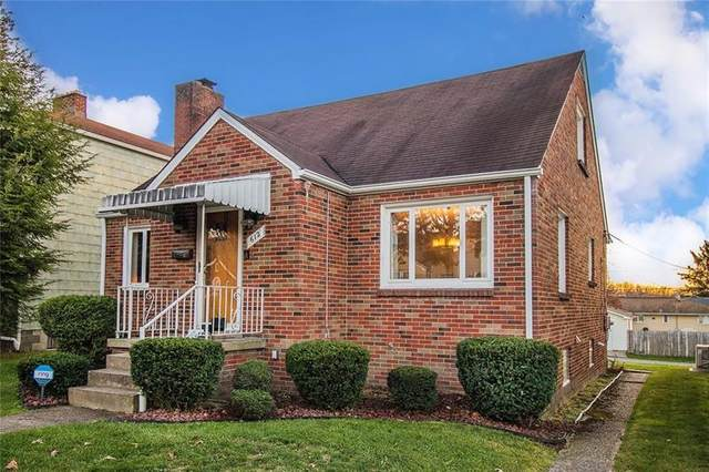 612 Welty Street, City Of Greensburg, PA 15601 (MLS #1476906) :: Broadview Realty