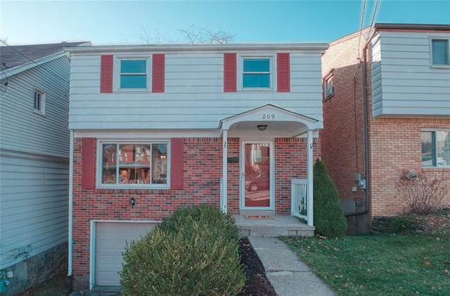 209 Bronx Ave, West View, PA 15229 (MLS #1478428) :: Dave Tumpa Team