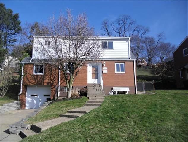 913 Chestnut St, Castle Shannon, PA 15234 (MLS #1482547) :: Broadview Realty