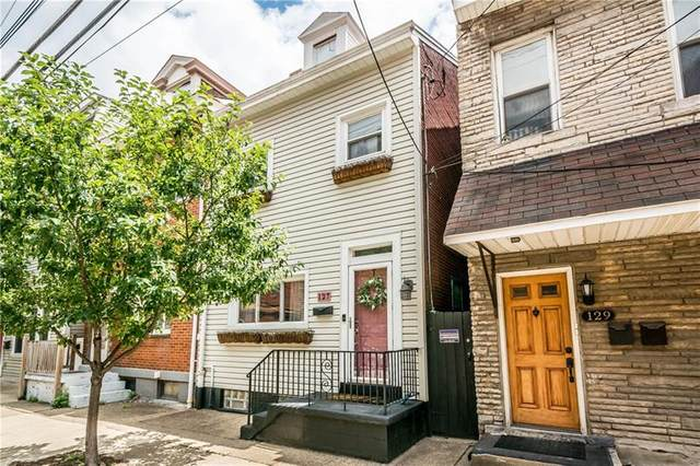 127 S 22nd St, South Side, PA 15203 (MLS #1482942) :: The SAYHAY Team