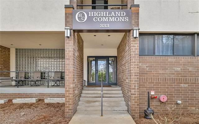 333 S Highland Avenue #304, Shadyside, PA 15206 (MLS #1491391) :: Dave Tumpa Team