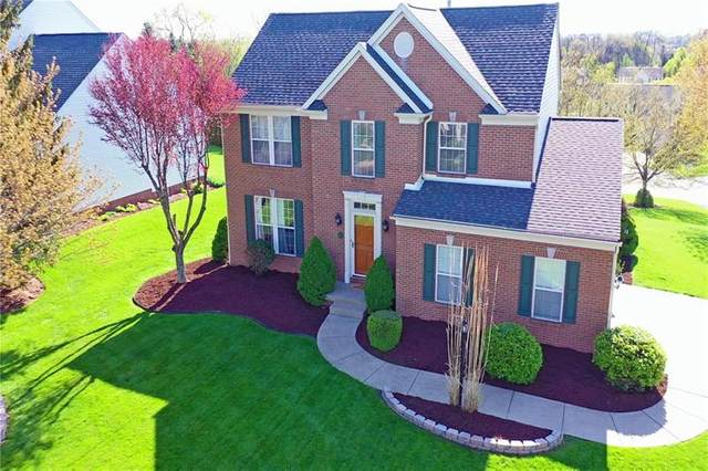 8027 Woodcreek Dr, South Fayette, PA 15017 (MLS #1496618) :: The SAYHAY Team