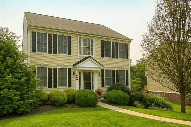 266 Strawberry Circle, Cranberry Twp, PA 16066 (MLS #1512206) :: The SAYHAY Team