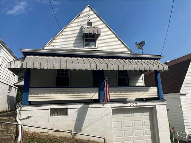 502 First Street, Charleroi Boro, PA 15022 (MLS #1513317) :: Broadview Realty