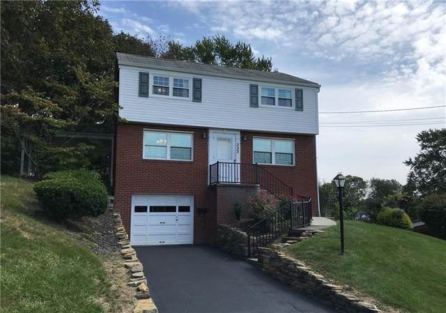 253 Voss Rd, Bethel Park, PA 15102 (MLS #1524389) :: Broadview Realty