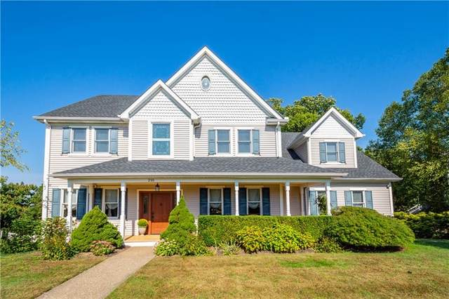 210 Summerlawn Dr, Bell Acres, PA 15143 (MLS #1526558) :: Dave Tumpa Team