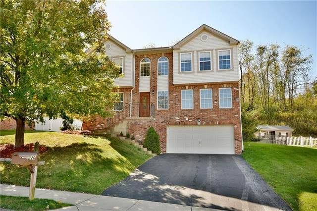 220 Redfield Dr, Collier Twp, PA 15071 (MLS #1527472) :: Dave Tumpa Team