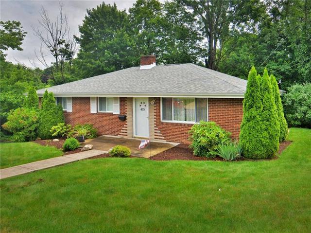 415 Shogan Drive, Hempfield Twp - Wml, PA 15601 (MLS #1344988) :: Keller Williams Pittsburgh