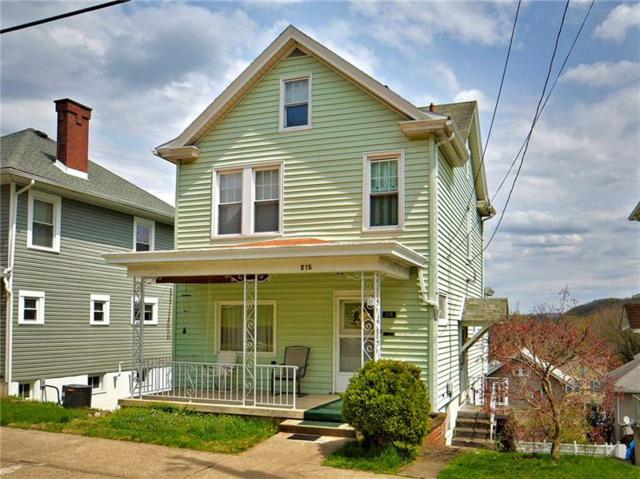 215 Center Ave, City Of Greensburg, PA 15601 (MLS #1388221) :: Broadview Realty