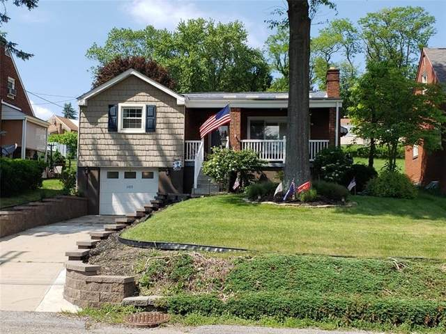 1105 Broughton Rd, South Park, PA 15236 (MLS #1441882) :: Dave Tumpa Team