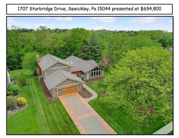 1707 Sturbridge Dr, Franklin Park, PA 15143 (MLS #1448370) :: Broadview Realty