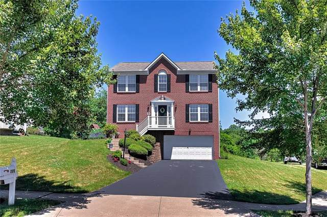 205 Broadview Ct, Cranberry Twp, PA 16066 (MLS #1505180) :: The SAYHAY Team