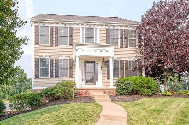146 Springhill Drive, North Fayette, PA 15071 (MLS #1512150) :: The SAYHAY Team