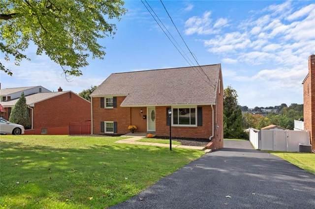 401 Sabbath Drive, Pleasant Hills, PA 15236 (MLS #1524468) :: Dave Tumpa Team