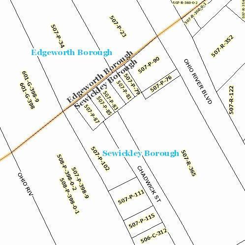 - Chadwick Street, Sewickley, PA 15143 (MLS #1328336) :: Keller Williams Realty
