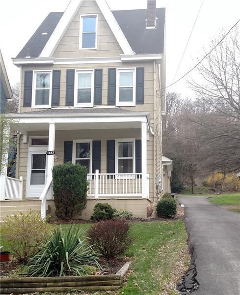 1482 Wilson Street, Shaler, PA 15116 (MLS #1333405) :: Keller Williams Realty