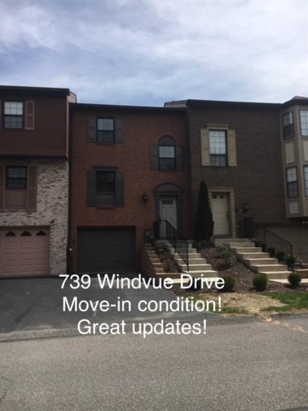 739 Windvue Drive, Robinson Twp - Nwa, PA 15205 (MLS #1333695) :: Keller Williams Pittsburgh