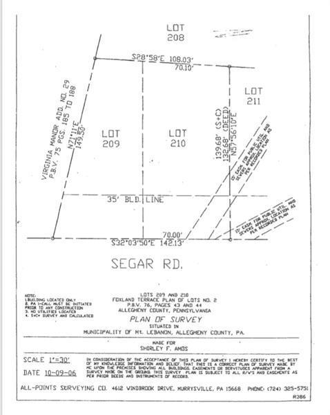 209/210 Segar Rd., Mt. Lebanon, PA 15243 (MLS #1371772) :: REMAX Advanced, REALTORS®