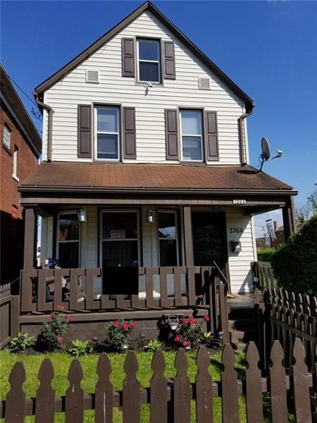 7364 Schley Ave, Swissvale, PA 15218 (MLS #1395258) :: Broadview Realty