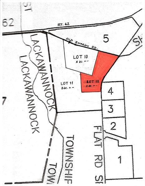 * Old Sharon Rd Lot 12, E Lackawannock Twp, PA 16137 (MLS #1437202) :: Dave Tumpa Team