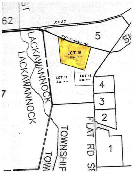 * Old Sharon Rd Lot 10, E Lackawannock Twp, PA 16137 (MLS #1437206) :: Dave Tumpa Team