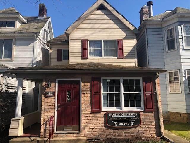 181 Washington Ave, Vandergrift - Wml, PA 15690 (MLS #1437292) :: Dave Tumpa Team