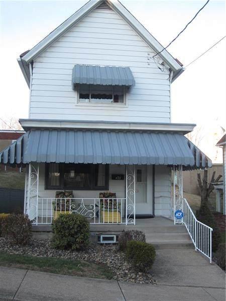 410 8th Street, Donora, PA 15033 (MLS #1445384) :: Dave Tumpa Team