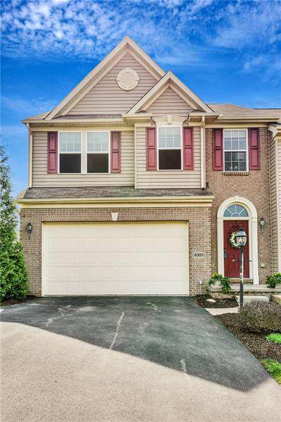 6351 Club Dr, South Fayette, PA 15057 (MLS #1493507) :: The SAYHAY Team