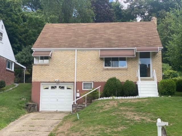 705 Churchill Ave, Penn Hills, PA 15235 (MLS #1513007) :: Dave Tumpa Team