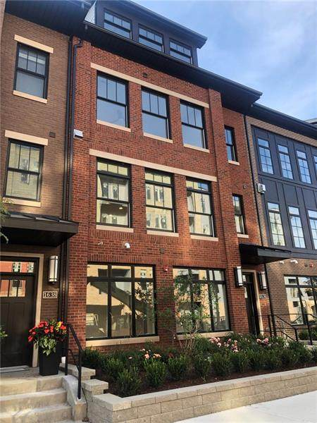 1634 Waterfront Place, Downtown Pgh, PA 15222 (MLS #1526069) :: Dave Tumpa Team