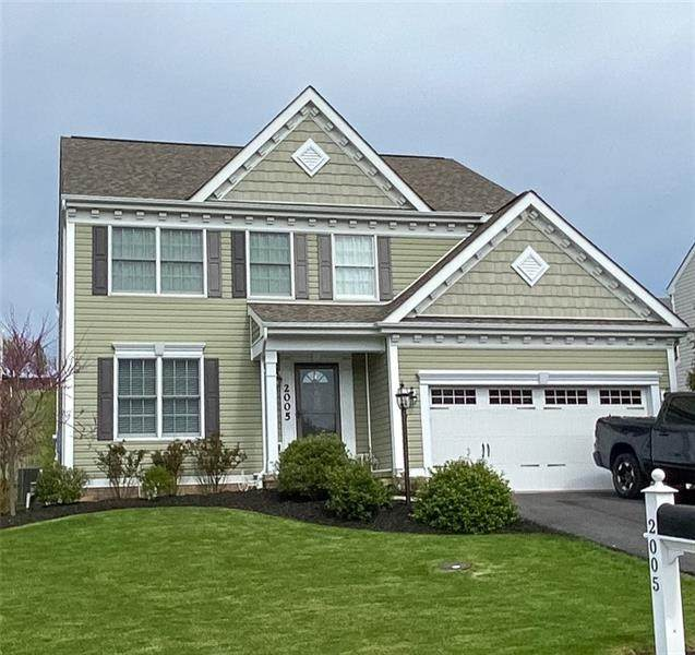 2005 White Oak Cir, Cecil, PA 15317 (MLS #1443934) :: Dave Tumpa Team