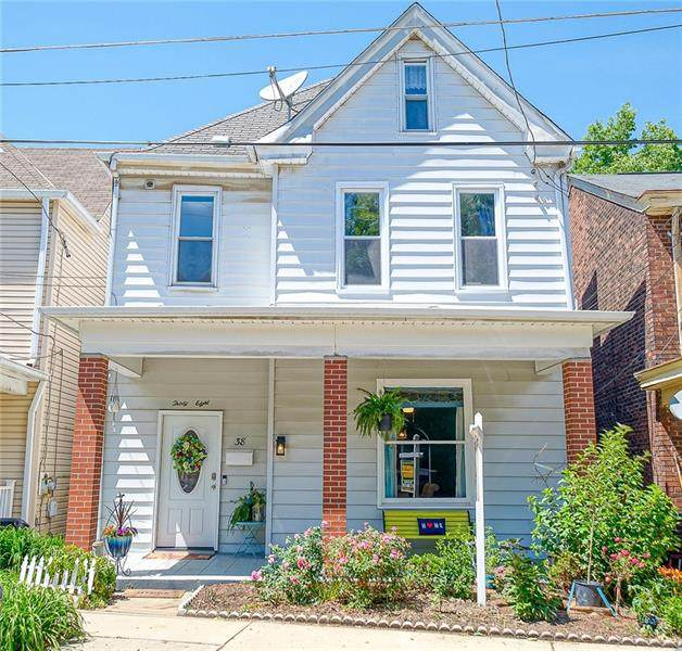 38 Exeter Street, Greenfield, PA 15217 (MLS #1505742) :: The SAYHAY Team