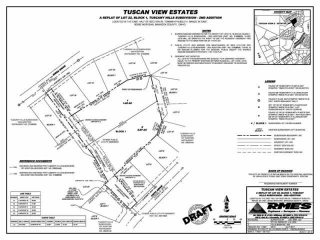 L2 B1 Tuscan View Estates, Pocatello, ID 83201 (MLS #559215) :: The Perfect Home