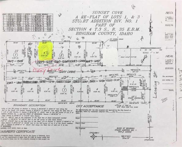1275+1277 .25 Acre Gary Drive, Blackfoot, ID 83221 (MLS #559997) :: The Perfect Home-Five Doors