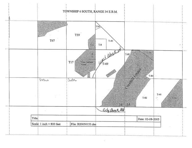80 Acres City Creek Area, Pocatello, ID 83204 (MLS #564026) :: Silvercreek Realty Group